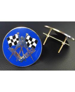 Masonic Car Radiator Badge