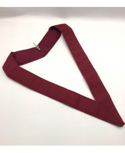 Athelstan Court Collar Crimson  Plain