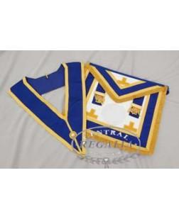 C025 Craft Prov F/d Apron & Collar Best Quality Emb Levels (no Badge)