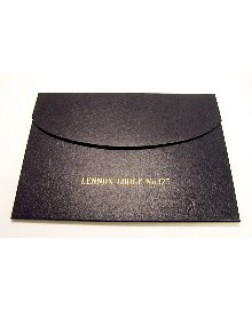 F041 Warrant Case - With Gilt Embossed Name & Number Of Lodge