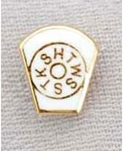 G148 Mark Lapel Pin  Enamel Keystone