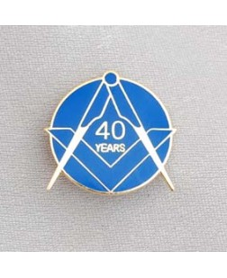 G323  Lapel Pin - Craft 40 Year