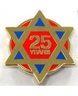 G326  Lapel Pin - Ra 25 Year
