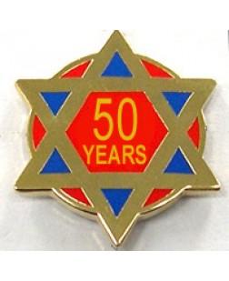 G328  Lapel Pin - Ra 50 Year