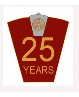 G445 Mark 25 Year Lapel Pin