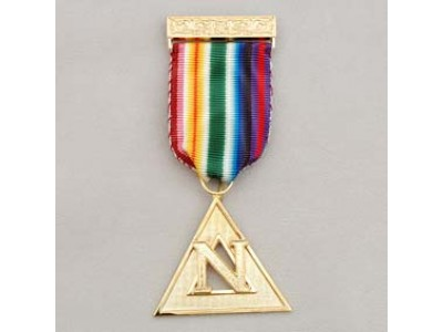 N113 Ram Pcn Breast Jewel Gilt For Grand Officers