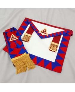 R006 Royal Arch Principals Apron & Sash Standard Quality