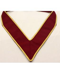 S009 R & Sm  Dist. Collarette For Deputy Dist. G.m. (two Stripes Russia Braid)